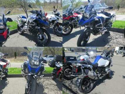 2014 BMW R1200GS ADVENTURE Blue for sale