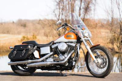 2014 Harley-Davidson Dyna 2-Tone Amber Whiskey & Brilliant Silver Deluxe for sale