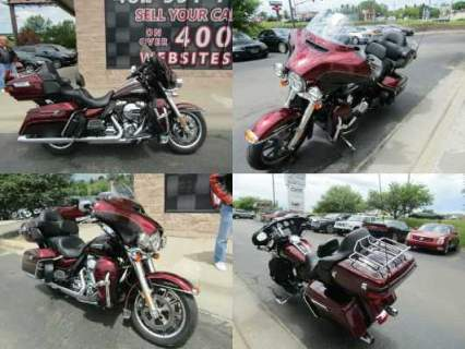 2014 Harley-Davidson Electra Glide Ultra Classic FLHTCU Red for sale