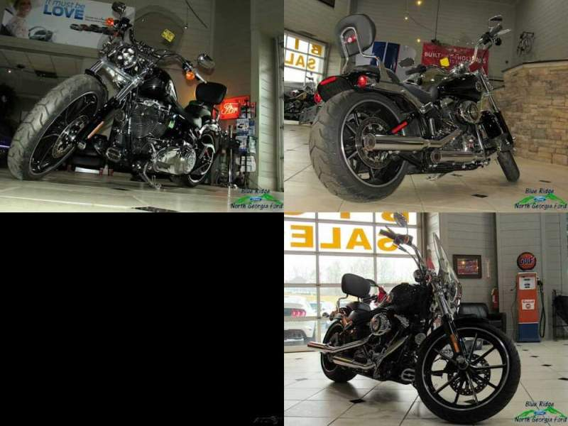 2014 Harley-Davidson Softail Breakout Black for sale craigslist