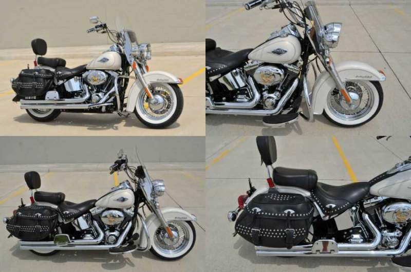 2014 Harley-Davidson Softail White for sale craigslist photo
