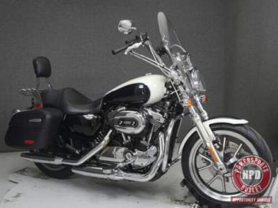 2014 Harley-Davidson Sportster XL1200T 1200 SUPERLOW MIDNIGHT PEARL/WHITE for sale craigslist