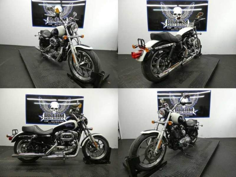 2014 Harley-Davidson XL1200T - Sportster SuperLow 1200T White for sale