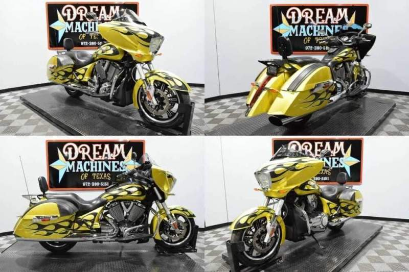 2014 Victory Cross Country Gold for sale craigslist