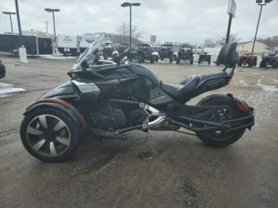 2015 Can-Am Spyder® F3 6-Speed Semi-Automatic (SE6) Black for sale craigslist