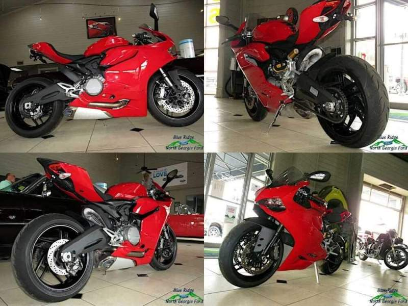 2015 Ducati Superbike 899 Anniversary Red for sale craigslist