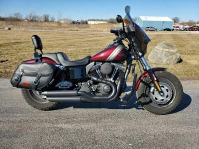 2015 Harley-Davidson FXDF - Dyna® Fat Bob® Red for sale craigslist photo