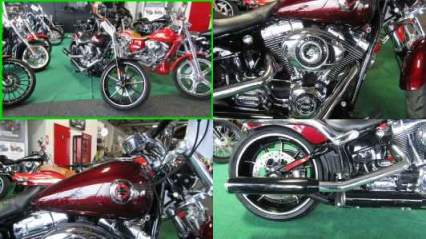 2015 Harley-Davidson Softail Breakout MAROON for sale craigslist photo