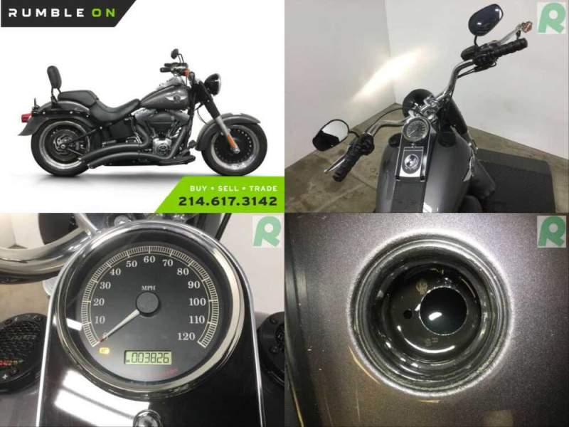 2015 Harley-Davidson Softail CALL (877) 8-RUMBLE Silver for sale