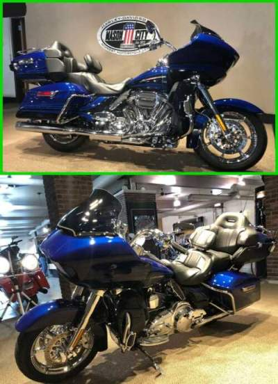 2015 Harley-Davidson Touring Road Glide® CVO™ Ultra Abyss Blue & Crushed Sapphire for sale craigslist