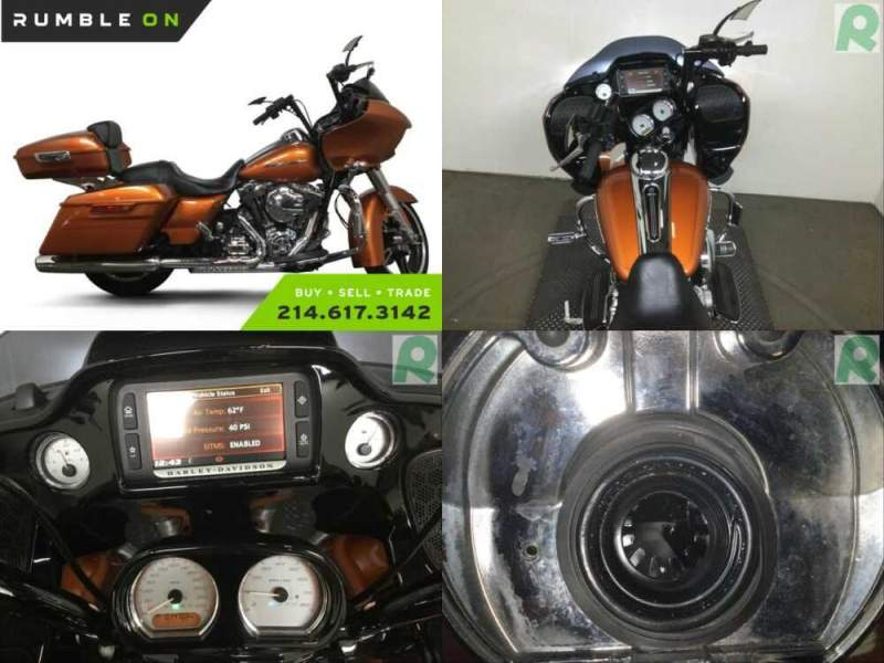 2015 Harley-Davidson Touring CALL (877) 8-RUMBLE Orange for sale craigslist