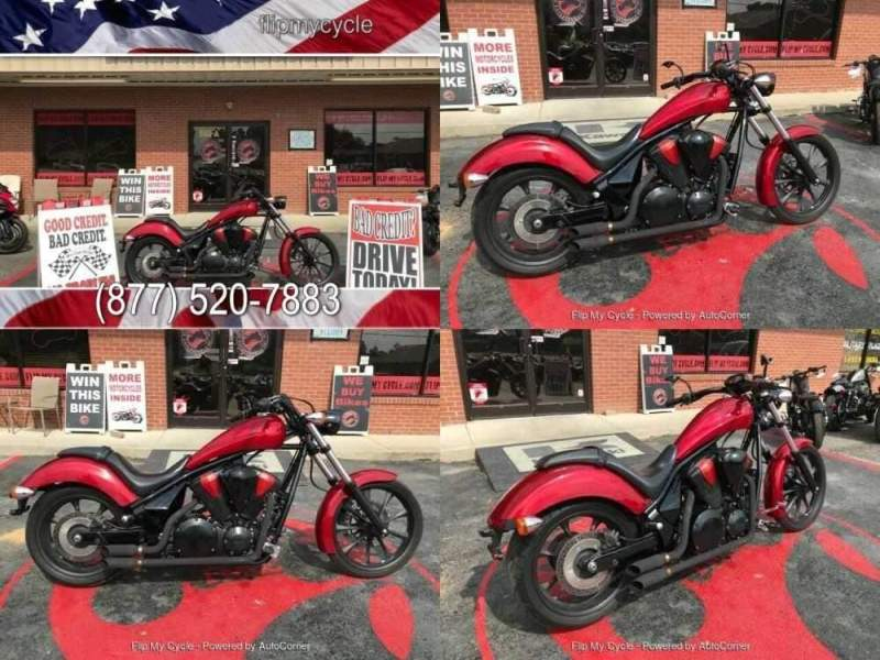 2015 Honda VT1300CX Fury Red for sale