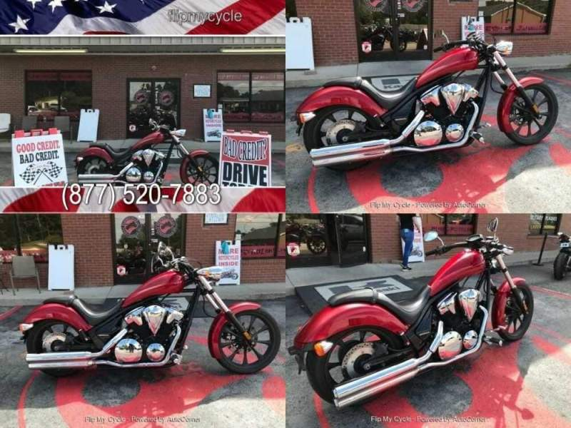 2015 Honda VT1300CX Red for sale