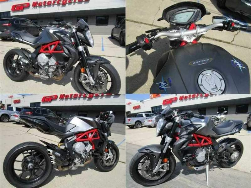 2015 MV Agusta Brutale 800 EAS ABS Gray for sale craigslist photo