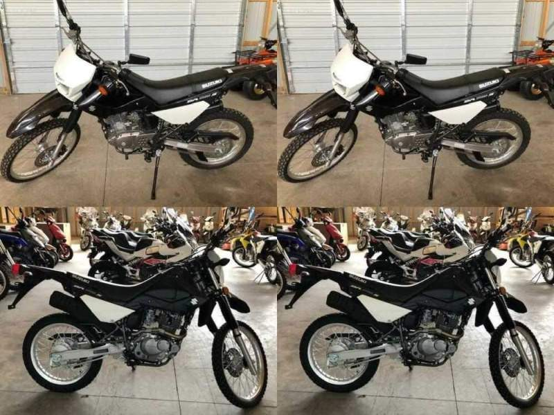2015 Suzuki DR200S Black for sale