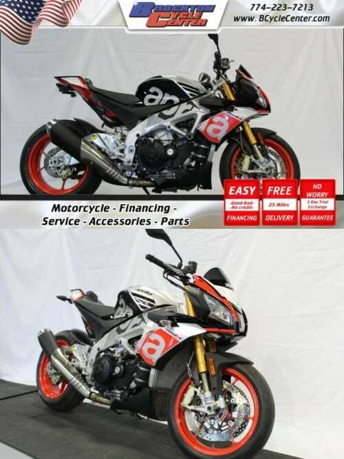 2016 Aprilia Tuono V4 1100 Factory Silver for sale craigslist