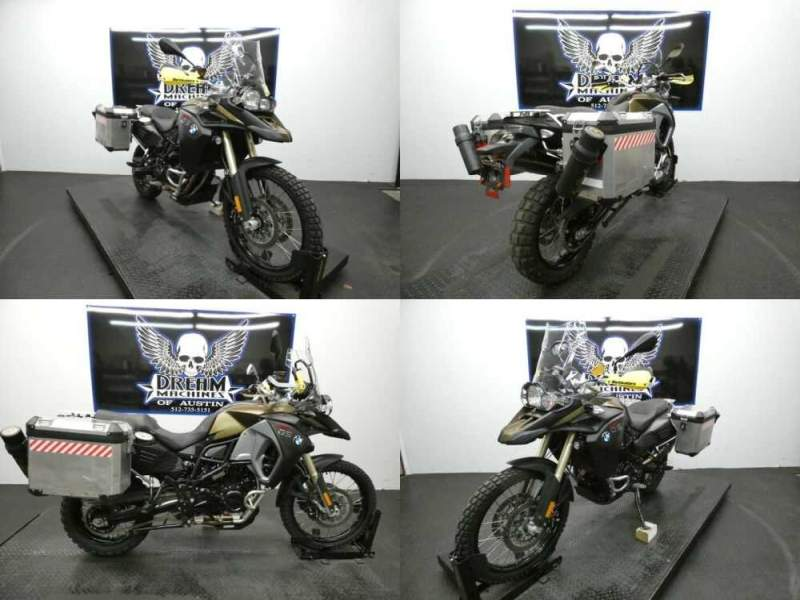 2016 BMW F 800 GS Adventure Premium Kalamata Metallic Matte Kalamata Metallic Matte for sale