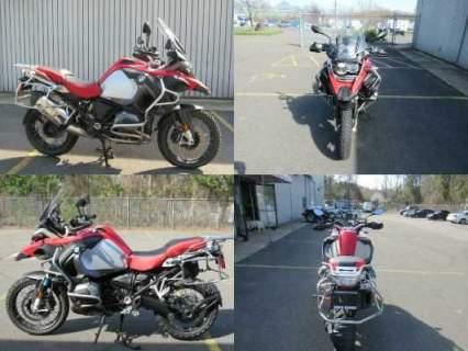 2016 BMW R1200GS ADVENTURE Red for sale