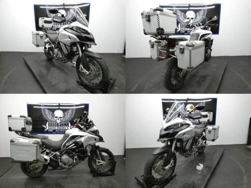 2016 Ducati Multistrada 1200 Enduro Touring Package White for sale craigslist photo