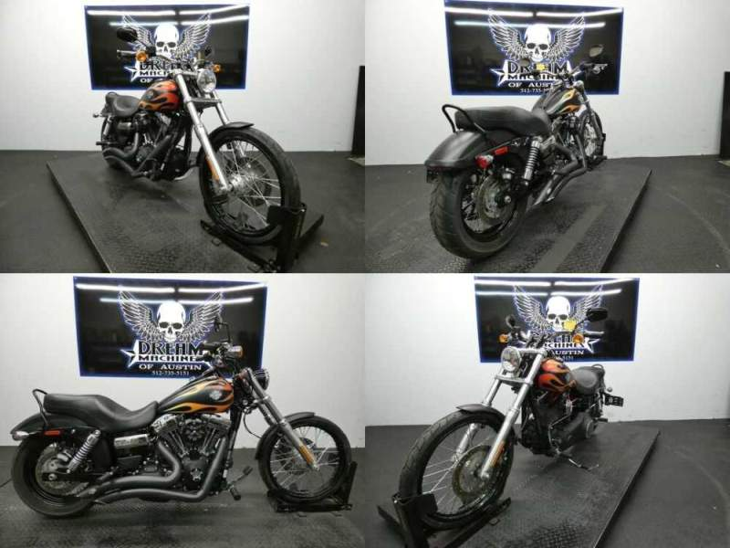 2016 Harley-Davidson Dyna Black for sale craigslist photo