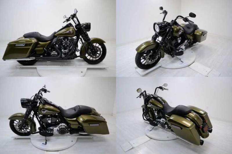 2016 Harley-Davidson FLHR Green for sale craigslist