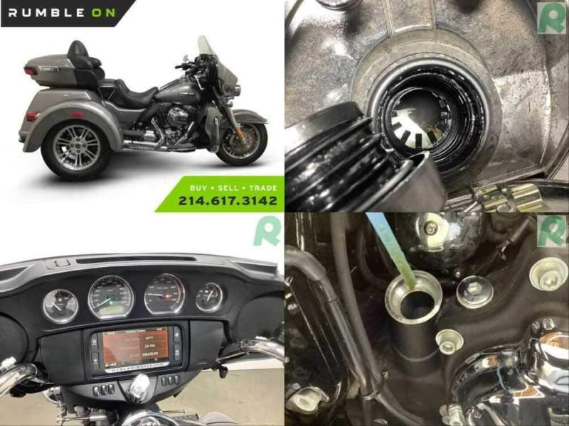 2016 Harley-Davidson FLHTCUTG CALL (877) 8-RUMBLE Silver for sale craigslist