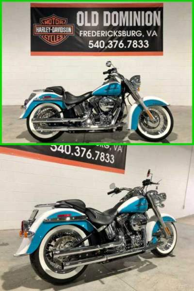 2016 Harley-Davidson Softail Deluxe Crushed Ice Pearl / Frosted Teal Pearl for sale craigslist