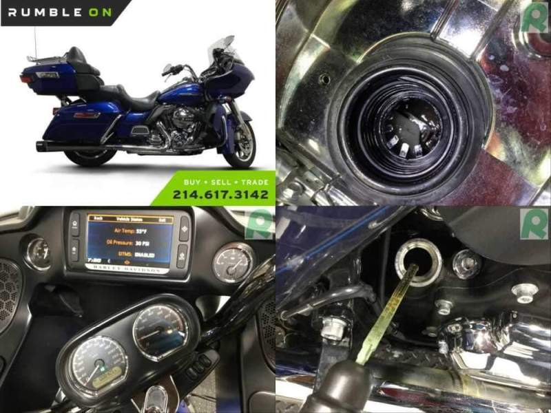 2016 Harley-Davidson Touring CALL (877) 8-RUMBLE Blue for sale craigslist