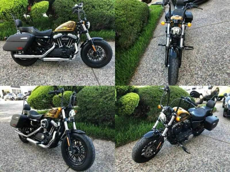 2016 Harley-Davidson XL1200X Forty-Eight Gold for sale craigslist photo