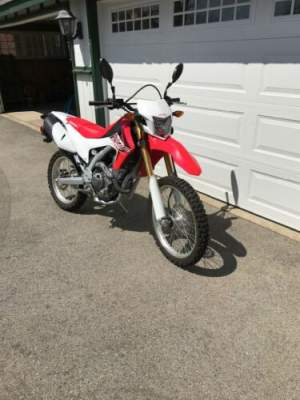 2016 Honda CRF Red for sale craigslist