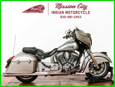 2016 Indian Chieftain Silver Smoke Silver Smoke for sale