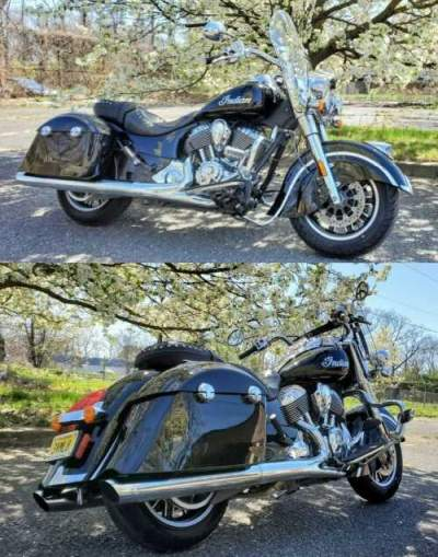 2016 Indian springfield Black for sale craigslist photo