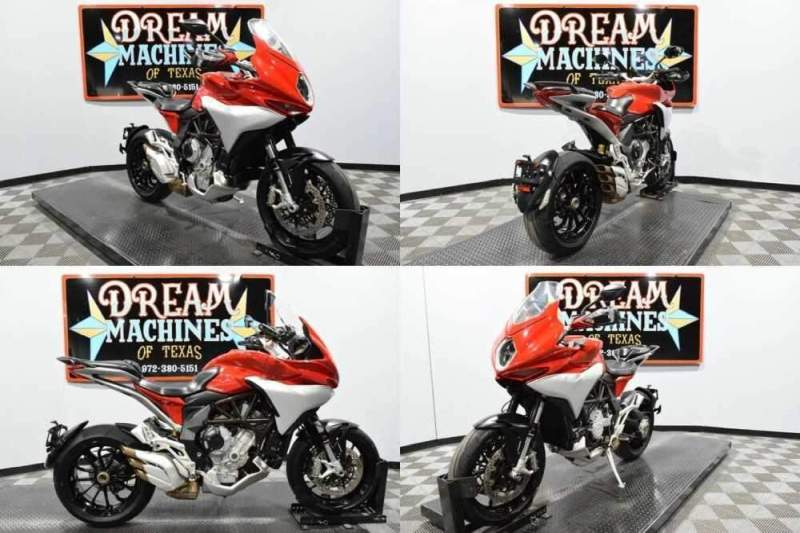 2016 MV Agusta Turismo Veloce 800 Red for sale craigslist photo