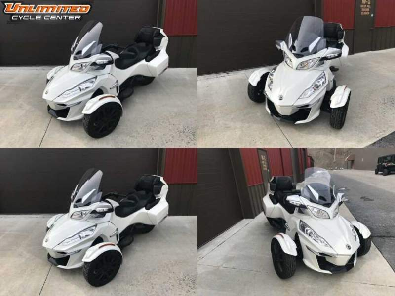 2017 Can-Am Spyder RT-S White for sale craigslist photo