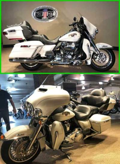 2017 Harley-Davidson Touring Electra Glide® Ultra Limited Arctic White for sale