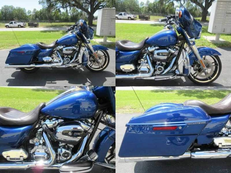 2017 Harley-Davidson Touring Street Glide® Special Blue for sale
