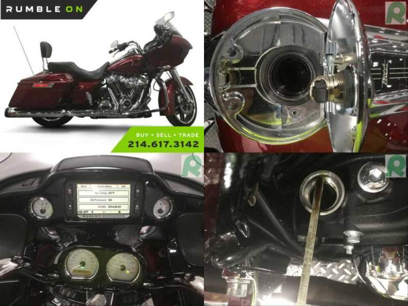 2017 Harley-Davidson Touring CALL (877) 8-RUMBLE Red for sale craigslist