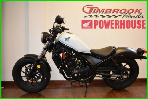 2017 Honda Rebel 300 White for sale