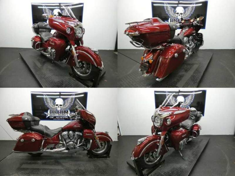 2017 Indian Roadmaster Burgundy Metallic Burgundy for sale craigslist