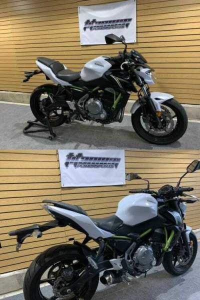 2017 Kawasaki Z650 ABS White for sale craigslist photo