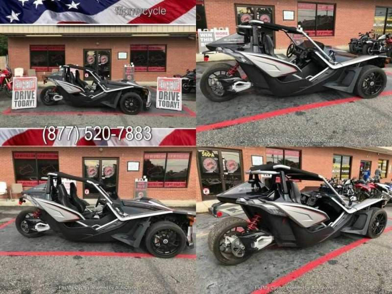 2017 Polaris Sling Shot SLR Silver for sale craigslist