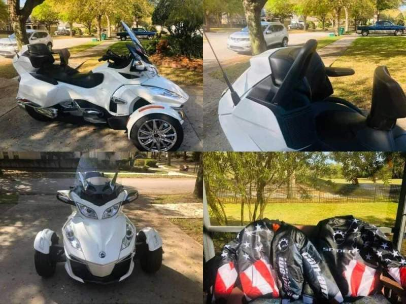 2018 Can-Am SPYDER RT LIMITED White for sale craigslist photo