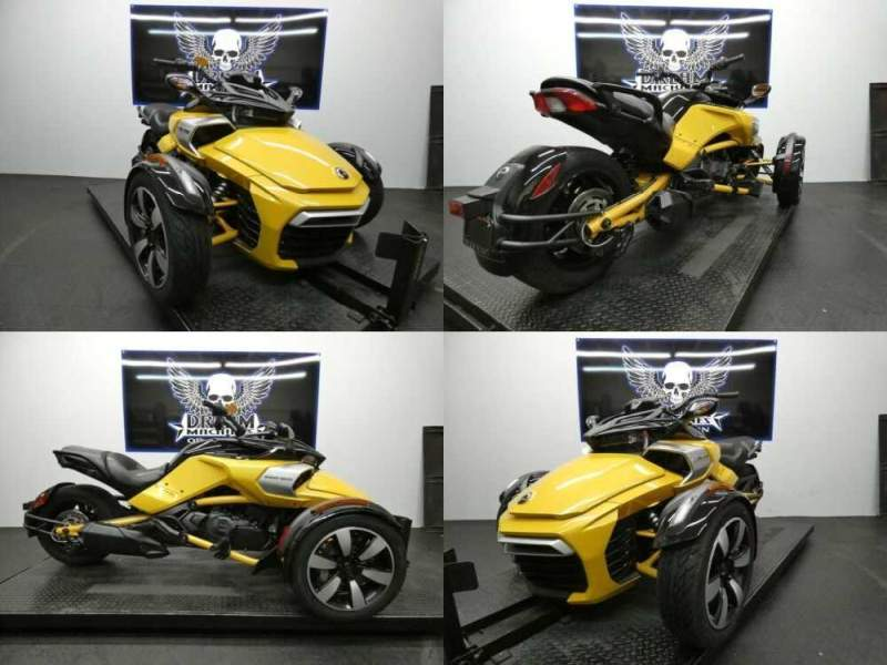 2018 Can-Am Spyder F3-S 6-speed semi-automatic with reverse SE Yellow for sale