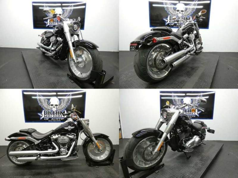 2018 Harley-Davidson FLFBS - Softail Fat Boy S 114 Black for sale craigslist