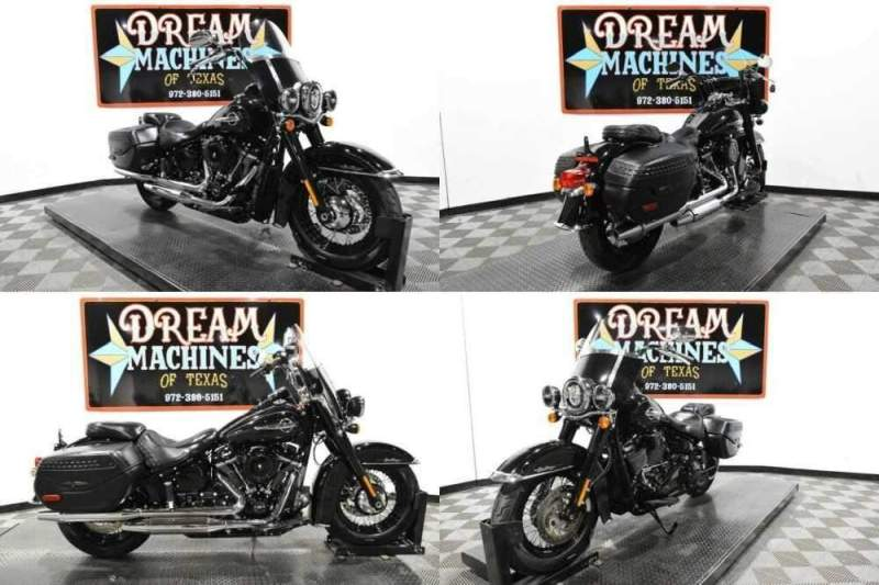 2018 Harley-Davidson FLHC - Softail Heritage Classic Black for sale craigslist photo