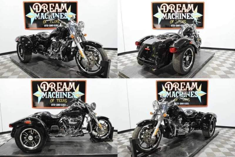 2018 Harley-Davidson FLRT - Freewheeler Trike Black for sale craigslist