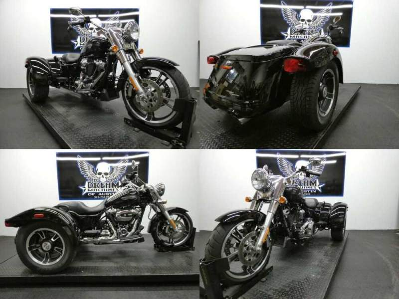 2018 Harley-Davidson FLRT - Freewheeler Black for sale craigslist