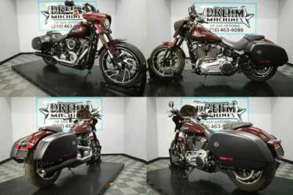 2018 Harley-Davidson FLSB - Softail Sport Glide Twisted Cherry for sale craigslist