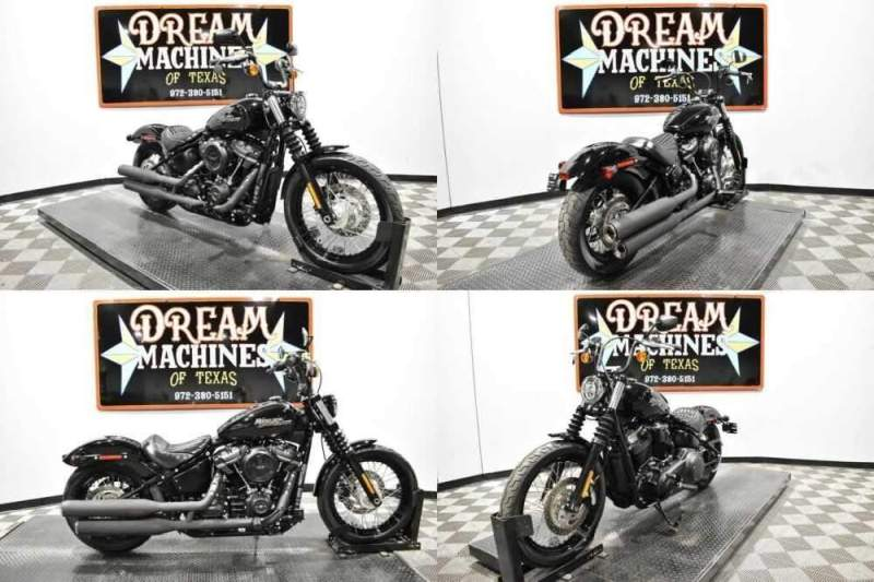 2018 Harley-Davidson FXBB - Softail Street Bob Black for sale craigslist photo