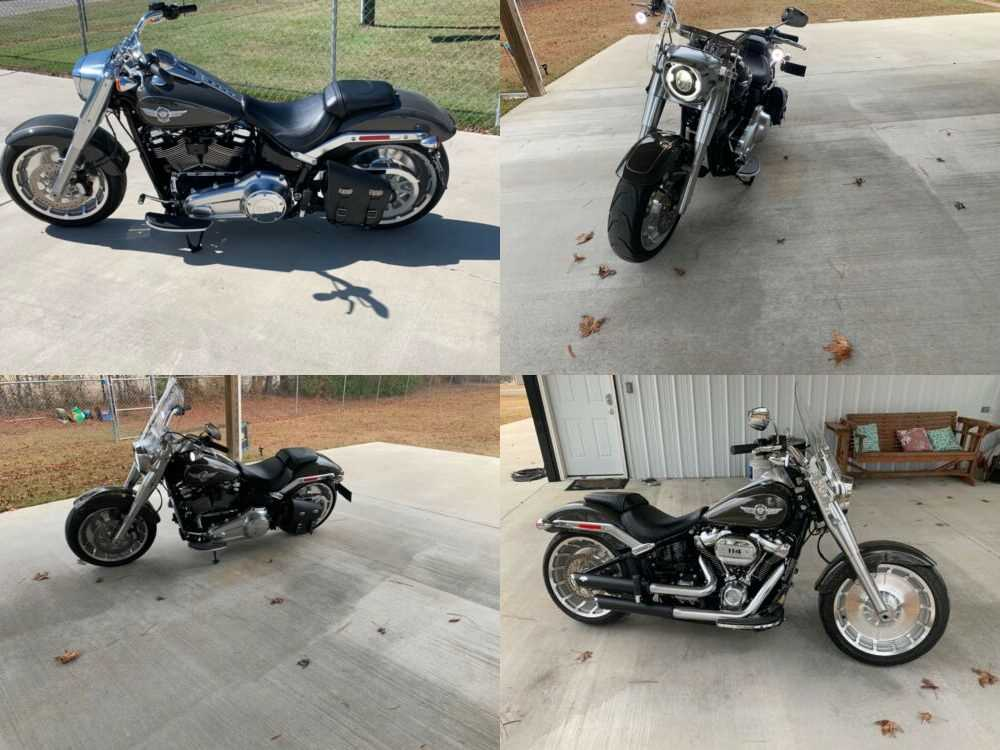 2018 Harley-Davidson Softail Industrial Gray for sale craigslist